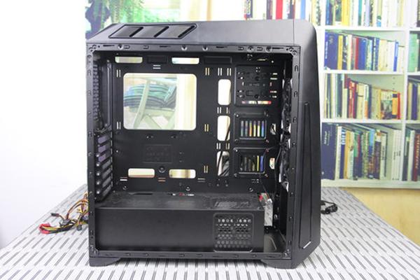 电脑机箱背部走线图解