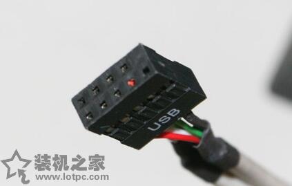 USB2.0接口图-机箱线怎么接主板 DIY电脑机箱跳线与主板连接图解图片