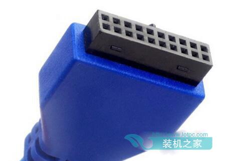 USB3.0接口-机箱线怎么接主板 DIY电脑机箱跳线与主板连接图解图片