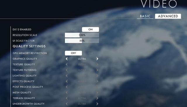 你的电脑配置能带的动吗?1080p/2K/4K分辨率实战《战地1》