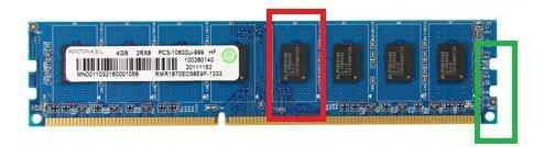 如何从外观上分辨DDR、DDR2、DDR3以及DDR4内存