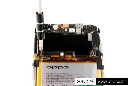oppo r9s拆机图解教程(2)