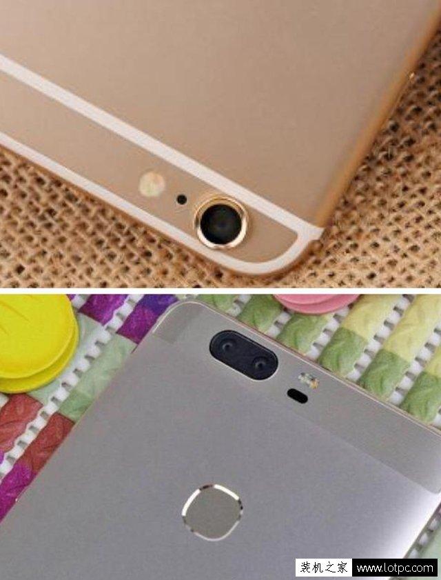 """华为荣耀V8对比苹果iphone 6s plus拍照哪个效果更好?"""""""