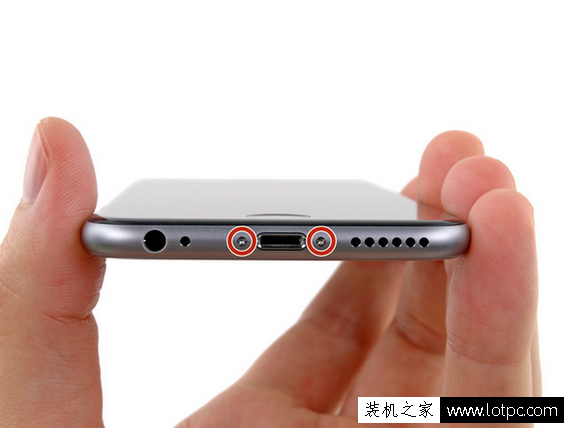 苹果iphone6拆机更换听筒详细图解 苹果iphone6内置听筒更换教程