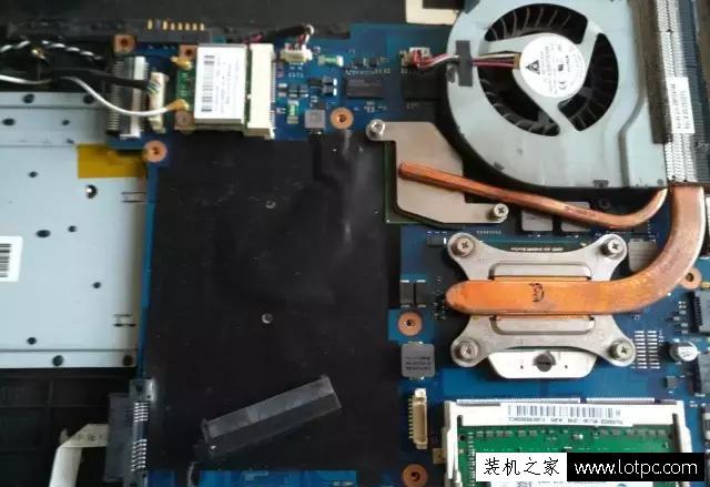 笔记本电脑cpu涂硅脂教程