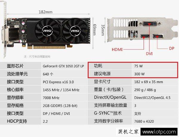 GTX1050配多少W电源合适?GTX1050配什么主板好?