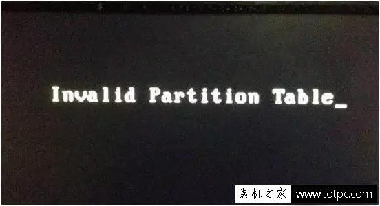 "双硬盘无法启动提示""invalid partition table""开不了机怎么解决?"