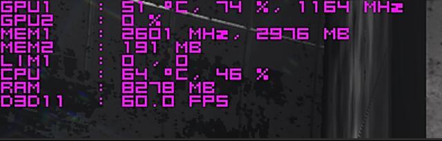 如何在游戲畫面中實時顯示FPS幀數和CPU和顯卡使用率、溫度等信息