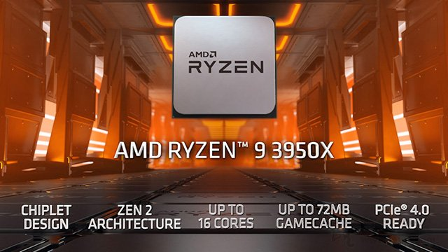 AMD Ryzen9 3950X 跑分曝光!多核性能超酷睿i9-9980XE约31%!
