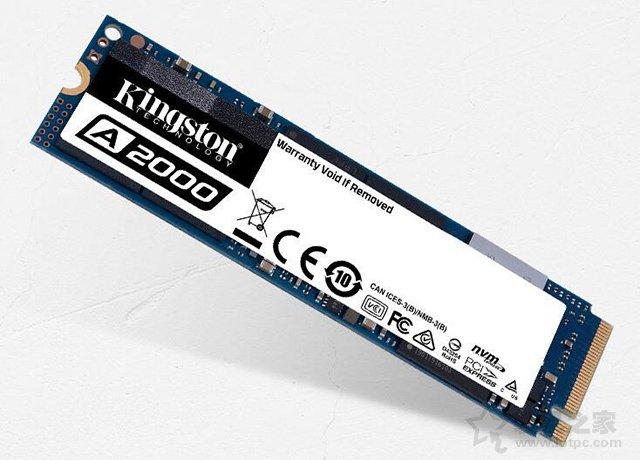 金士顿 A2000 250GB NVMe M.2固态硬盘