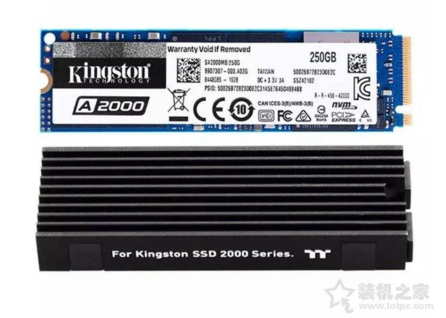 金士顿A2000系列 250G M.2 NVMe固态硬盘