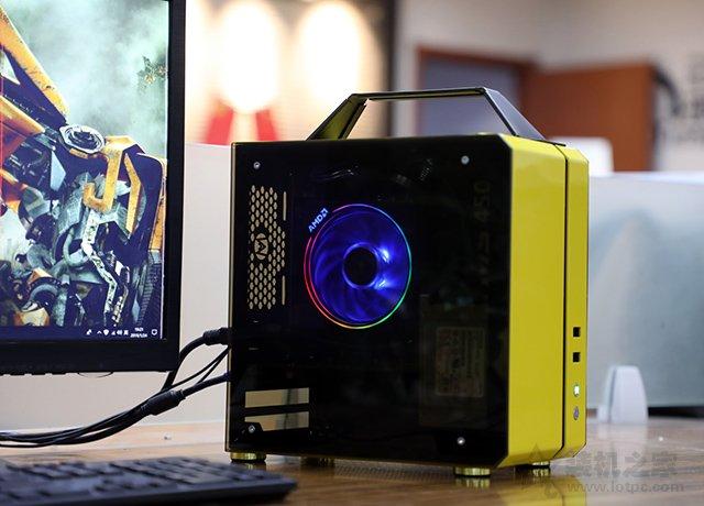 机械大师小方糖C24!AMD锐龙3600配GTX1660S独显ITX主机配置推荐