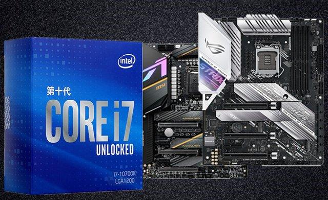 intel酷睿i7-10700K配什么主板?i710700KF最佳主板搭配知识科普