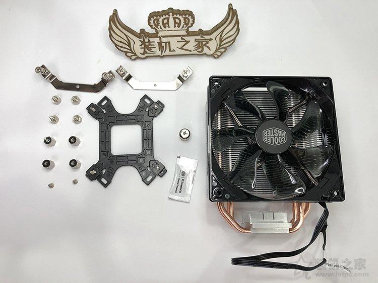 酷冷至尊T400i怎么装?酷冷至尊T400i散热器安装方法图解教程