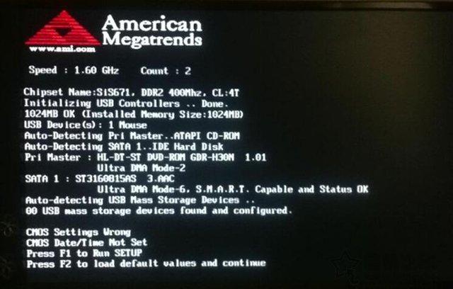 按F1才能进系统怎么办?电脑开机需要按f1才能进入系统的解决办法