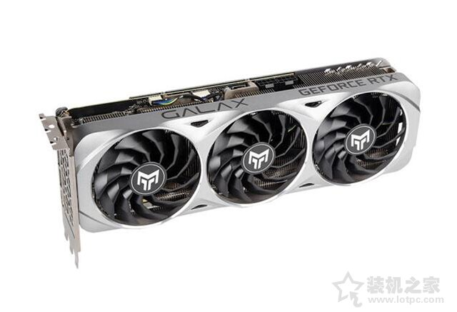 影驰 GeForce RTX3080 金属大师