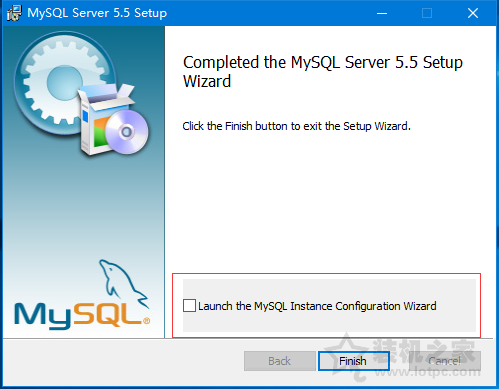Win10安装mysql5.5安装最后一步停住卡死未响应的解决方法